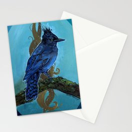 Stellar's Jay - Cletus Sings the Blues Stationery Cards