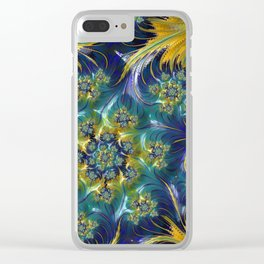 Waves of Sunshine Clear iPhone Case