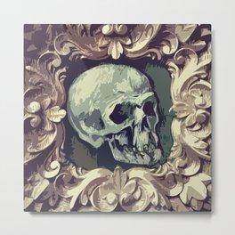 A Fine Skull Metal Print