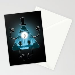 Bill is watching you Stationery Cards