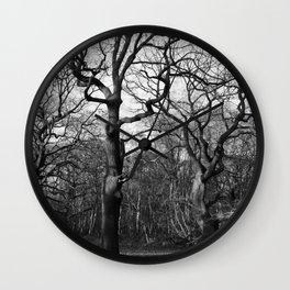 Oak Tree Army Wall Clock
