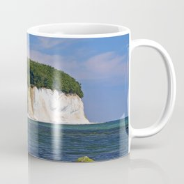 Chalk coast, Ruegen in Germany Coffee Mug