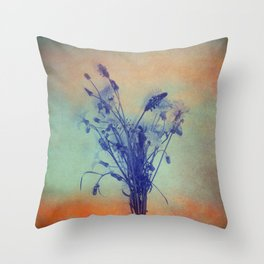Small Beauties of Nature Throw Pillow