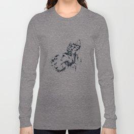 Splaaash Series - Dark Force Ink Long Sleeve T-shirt