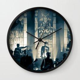 He is. Wall Clock
