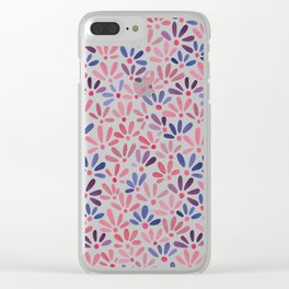 All-over ditsy floral Clear iPhone Case