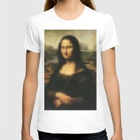mona lisa T-shirts featuring Mona Lisa by Bilal