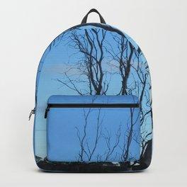 Bare Tree At Dusk Backpack