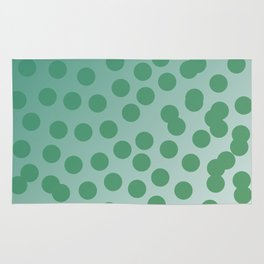 Design green dots emerald edition Rug