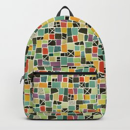 Square On Mosaic Backpack