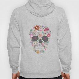 Art Skull Flower Hoody