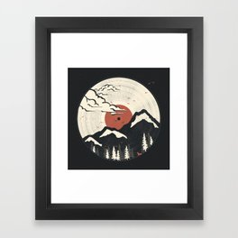 MTN LP... Framed Art Print