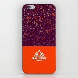 Trail Status / Orange iPhone Skin