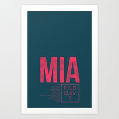 MIA II Art Print