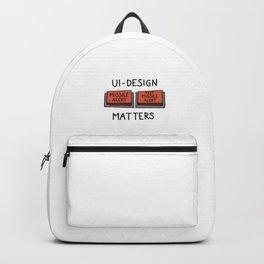 UI Design matters – Missile alert – Test Missile alert   [color] Backpack