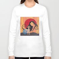 capricorn Long Sleeve T-shirts featuring Capricorn by LeaK Arts