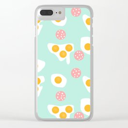 #Abstract #pattern #eggs Clear iPhone Case