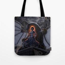Lamb of Columbia Tote Bag