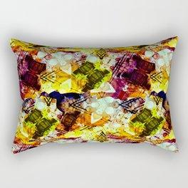Graffiti Style - Marking on Colors Rectangular Pillow