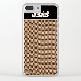 music amplifier Clear iPhone Case