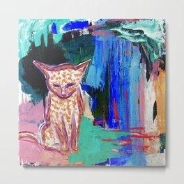 House Cat / Jungle Monster Metal Print