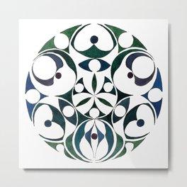 Celtic Circle VII Metal Print