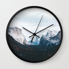 Tunnel View - Yosemite Valley, California Wall Clock