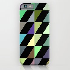 Tilted rectangles pattern Slim Case iPhone 6s