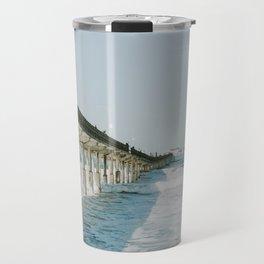 Ocean Beach Boardwalk Travel Mug