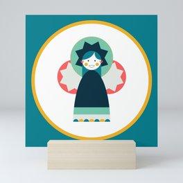 Moulid Doll - Teal Mini Art Print