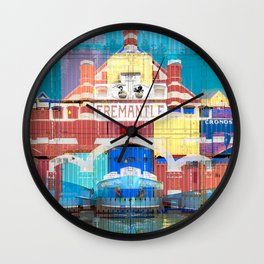 Fremantle Markets Wall Clock