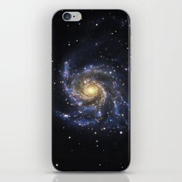 Spiral Galaxy M101 iPhone Skin
