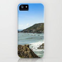 Cornishseascapes Gunwalloe 02 iPhone Case