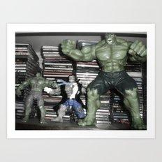 Hulks Pick Song! Art Print