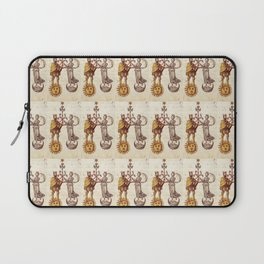 Sun and Moon King and Queen Pattern Laptop Sleeve