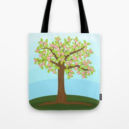 Tree Bloom Tote Bag
