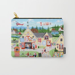 The Calico Cat Quilt Shop Carry-All Pouch
