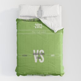 End of the World 2012 Comforters