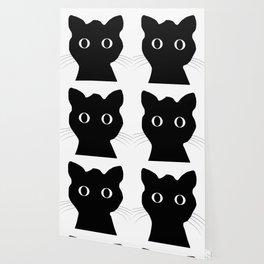 Black eyes cat Wallpaper
