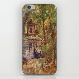 Temple in the Deep Forest in my village iPhone Skin