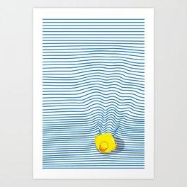 Rubber Ducky Kunstdrucke
