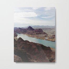 The Colorado River Metal Print