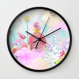 NOT MANLY Wall Clock