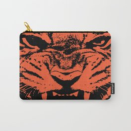 Tiger Vector Carry-All Pouch