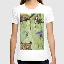 Tarzan's Last Jump T-shirt