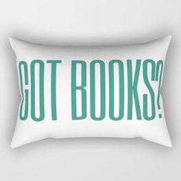 got books? Rectangular Pillow
