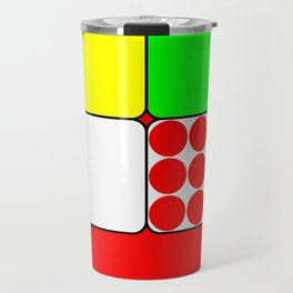 Tour de France Jerseys 3 Red Travel Mug