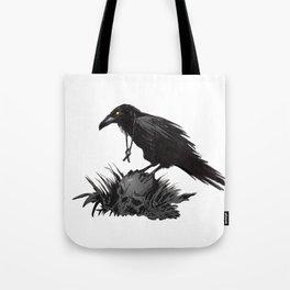 Death Poetry Tote Bag
