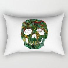 Skull No.7 Motherboard Rectangular Pillow