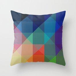 Crystal Jewel Spectrum Throw Pillow